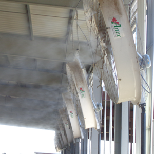 High Pressure Misting Systems | High Pressure Fogging Systems