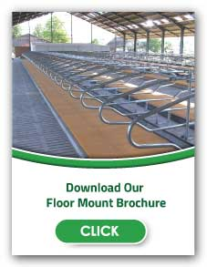 Floor Mount Freestall Systems | Artex Barn Solutions