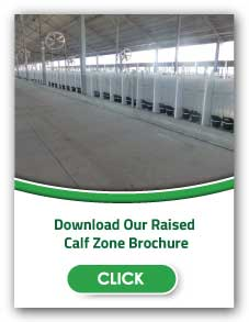 Raised Calf Zone Pen | Raised Calf Pen Systems