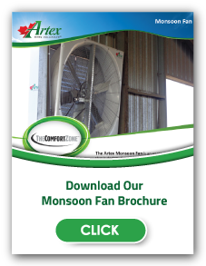 Monsoon Fans | Positive Pressure Fans | Barn Ventilation