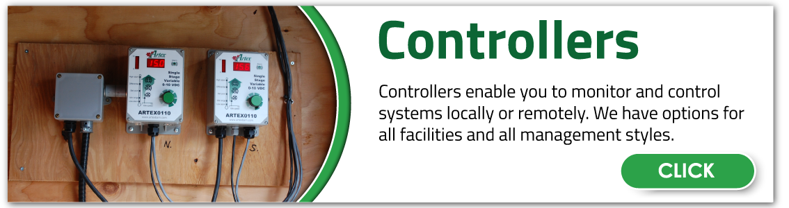 Circulation Fan Controllers | Artex Controllers | Ventilation Controllers