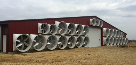 Standard Exhaust Fans | Barn Exhaust Fans | Barn Ventilation
