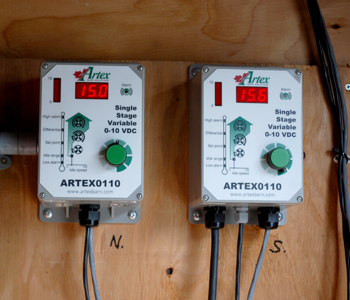 Variable Frequency Drive Controller | Artex Controllers